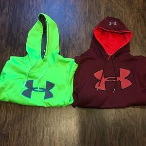 womens small under armour hoodies